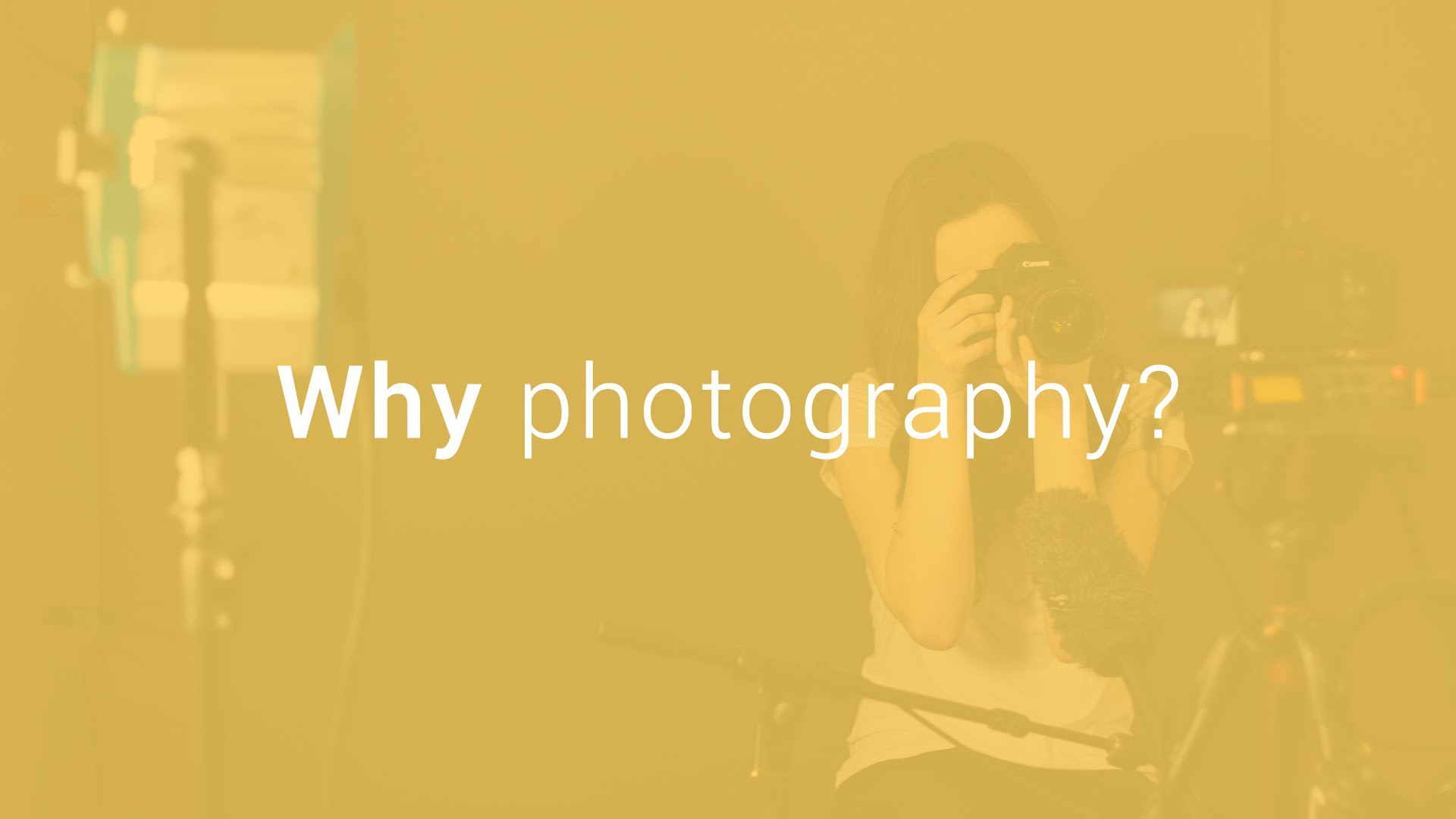 Five Reasons That Why Should You Join The Field of Photography
